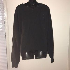 Black  blauer police uniform sweater large